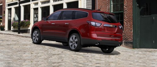 small resolution of 2016 chevrolet traverse back view