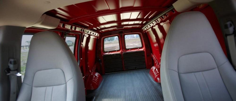 medium resolution of 2016 chevy express 3500 interior cargo