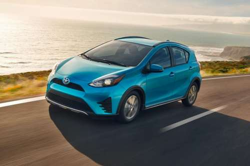 small resolution of this tugs the prius c to 60 mph in just under 11 seconds and delivers up to 46 mpg combined