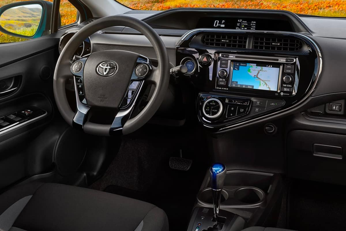 hight resolution of there are also plenty of standard safety goodies in the 2019 prius c including automatic emergency braking with pedestrian detection lane departure