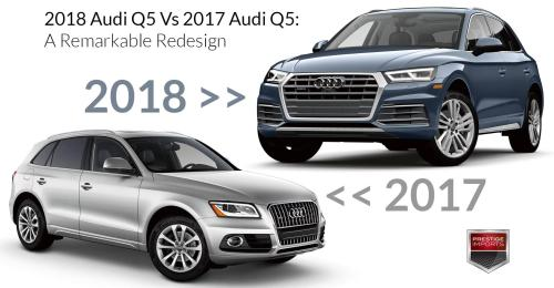 small resolution of 2018 audi q5 vs 2017 audi q5 a remarkable redesign