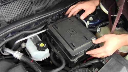 small resolution of car battery installation