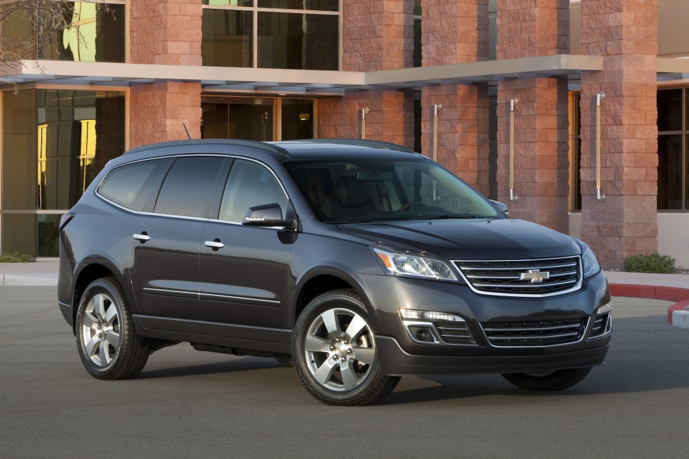 medium resolution of 2013 chevrolet traverse crossover