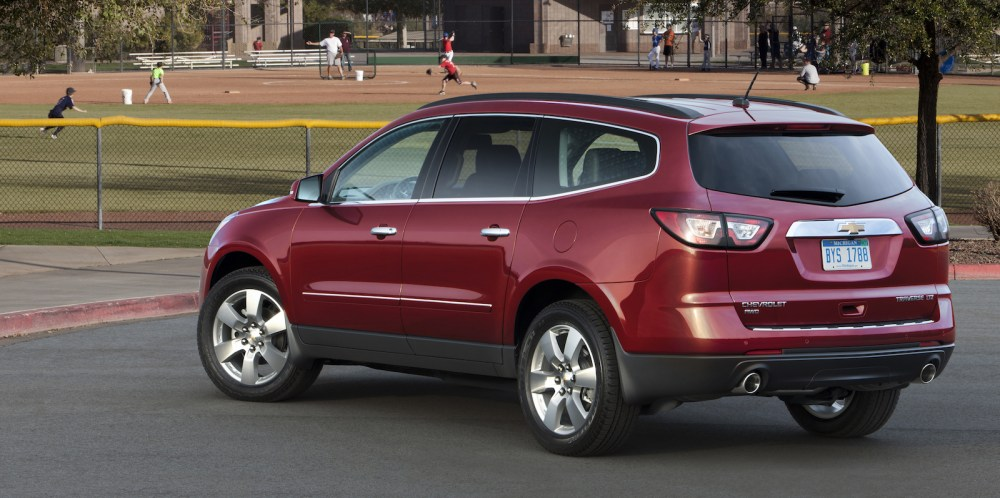 medium resolution of 2014 chevrolet traverse ltz