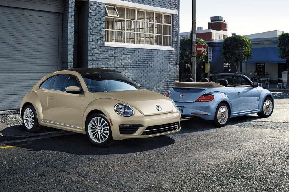 medium resolution of 2019 volkswagen beetle final edition convertible in blue and safari