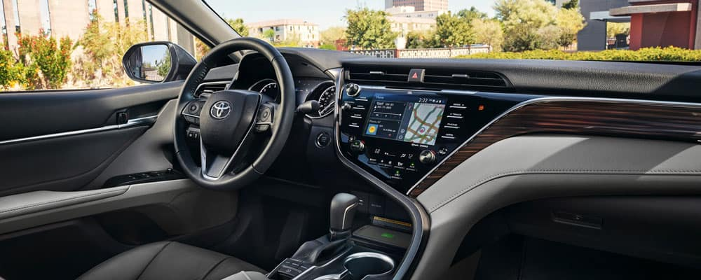 all new camry 2019 interior grand avanza 2015 type e toyota features specs of downtown la