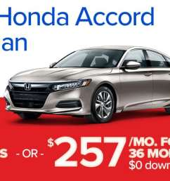 must finance lease through honda finance excludes prior sales see dealer for details actual down payment may vary offers end 1 9 2019  [ 1920 x 450 Pixel ]