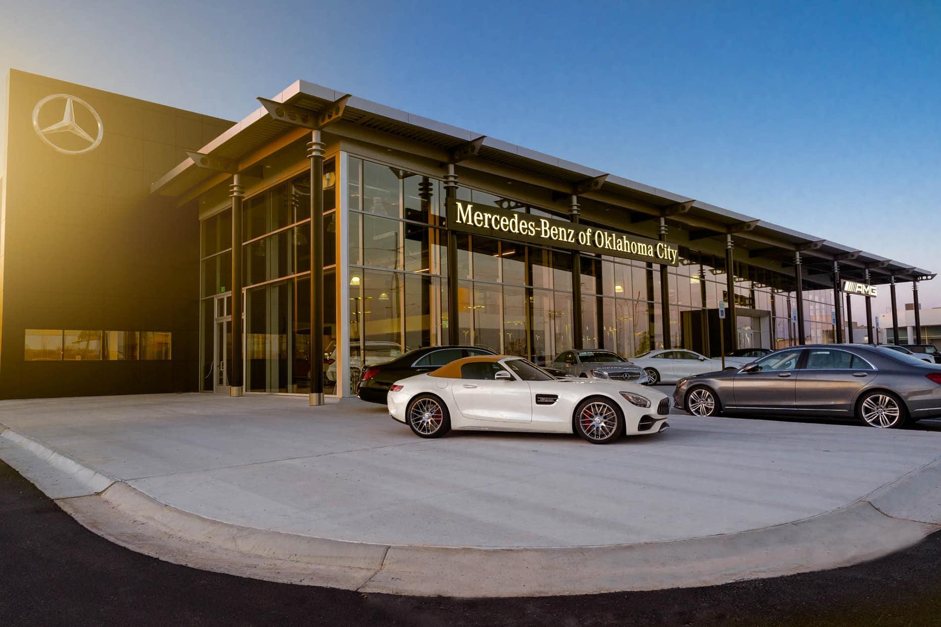 hight resolution of mercedes benz of oklahoma city facility photos