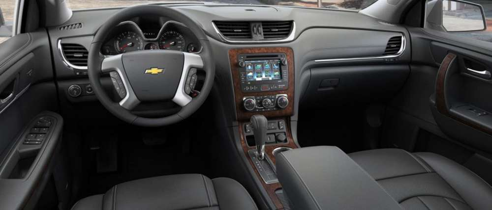 medium resolution of 2015 chevy traverse interior