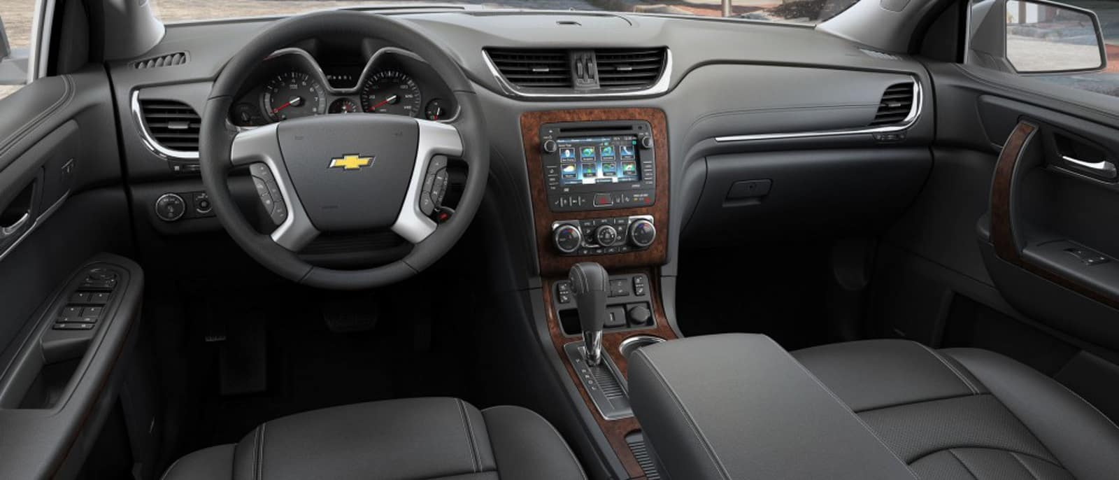 hight resolution of 2015 chevy traverse interior