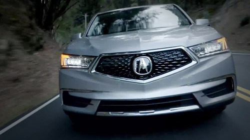 small resolution of 2017 acura mdx exterior front angle