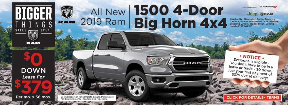 medium resolution of 2019 ram 1500 big horn