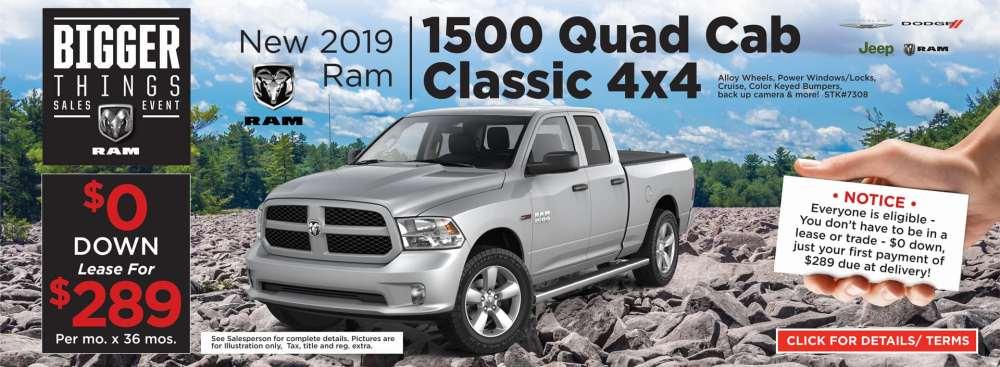 medium resolution of 2019 ram quad cab