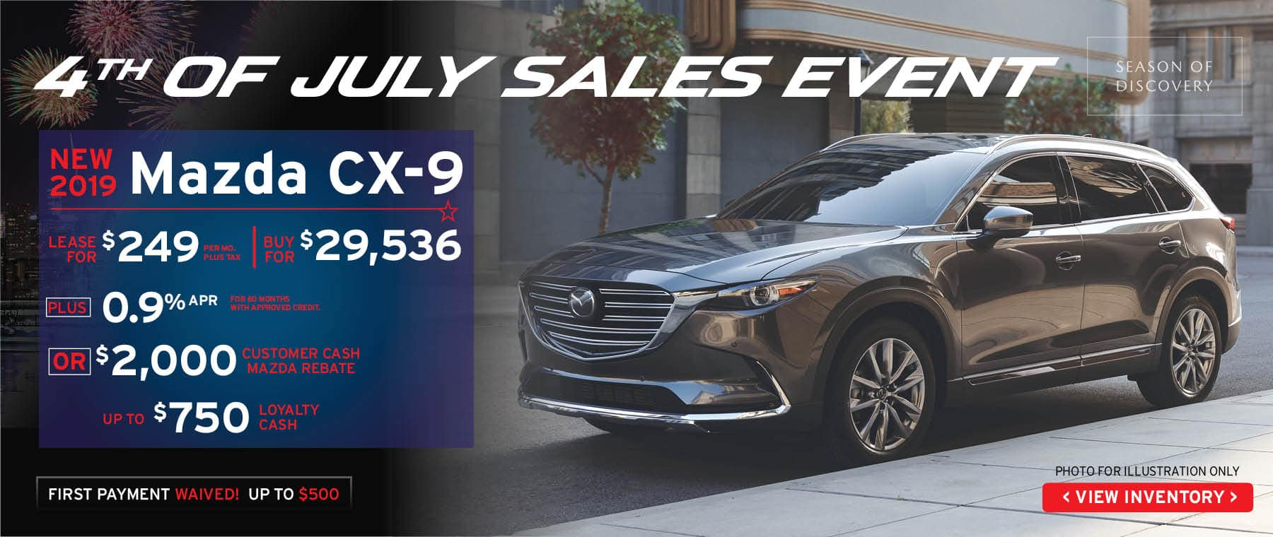 hight resolution of 4th of july sale cx 9