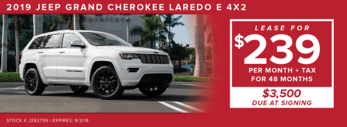 small resolution of monthly payment includes dealer documentation fee and acquisition fee security deposit waived see dealer for details stock j292507 expires 7 31 2019