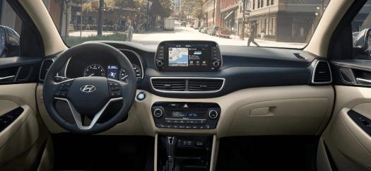 2020 Hyundai Tucson Interior Features & Dimensions ...