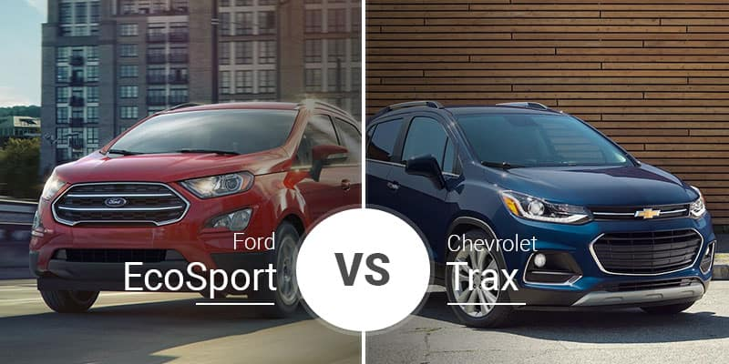 chevy trax vs ford ecosport little
