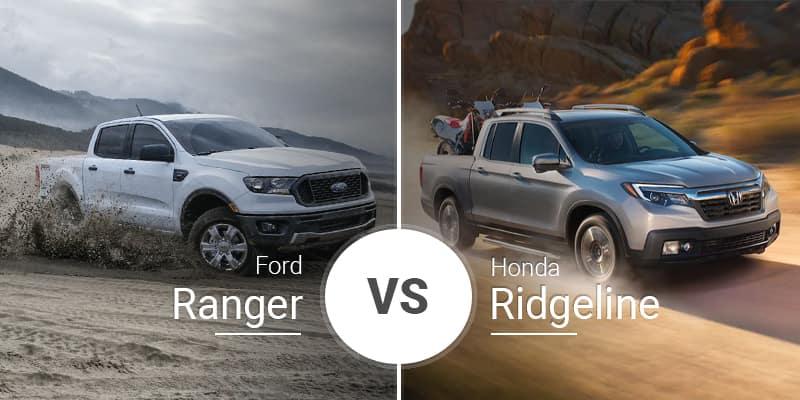 With a spacious interior that has. Ford Ranger Vs Honda Ridgeline