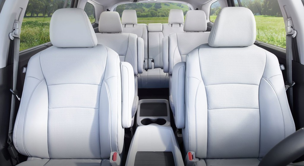 honda pilot captains chairs staples office chair parts the 2017 interior a home away from seats