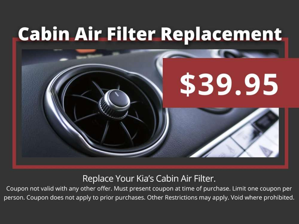 medium resolution of kia cabin air filter replacement