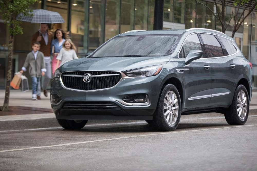medium resolution of the 2019 buick enclave and 2019 infiniti qx60