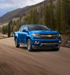 like the interior the 2019 colorado and 2019 canyon are identical under the skin both models feature three engine options starting with a 2 5 liter  [ 1900 x 913 Pixel ]