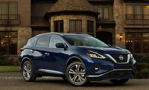 small resolution of 2019 nissan murano gets visual and safety updates