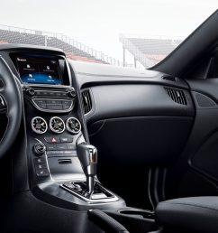 2016 hyundai genesis coupe interior  [ 1600 x 686 Pixel ]