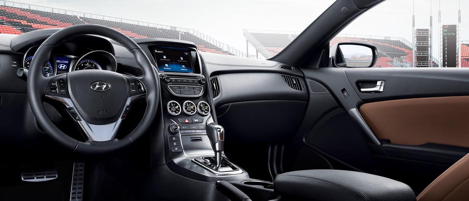 hight resolution of  2016 hyundai genesis coupe interior