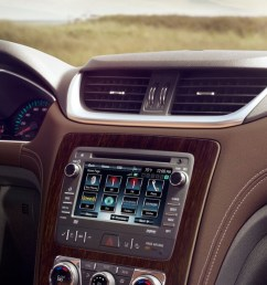 2017 chevy traverse interior features  [ 1600 x 686 Pixel ]