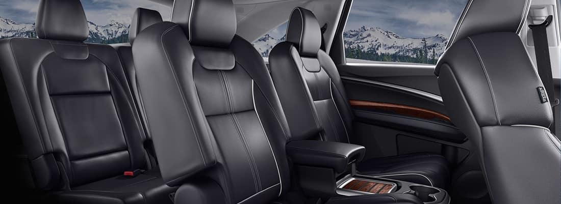 What Is the Seating Capacity of the 2018 Acura MDX