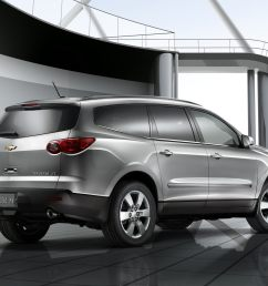 2011 silver used chevy traverse [ 2100 x 1575 Pixel ]