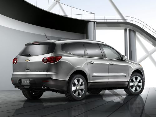 small resolution of 2011 silver used chevy traverse