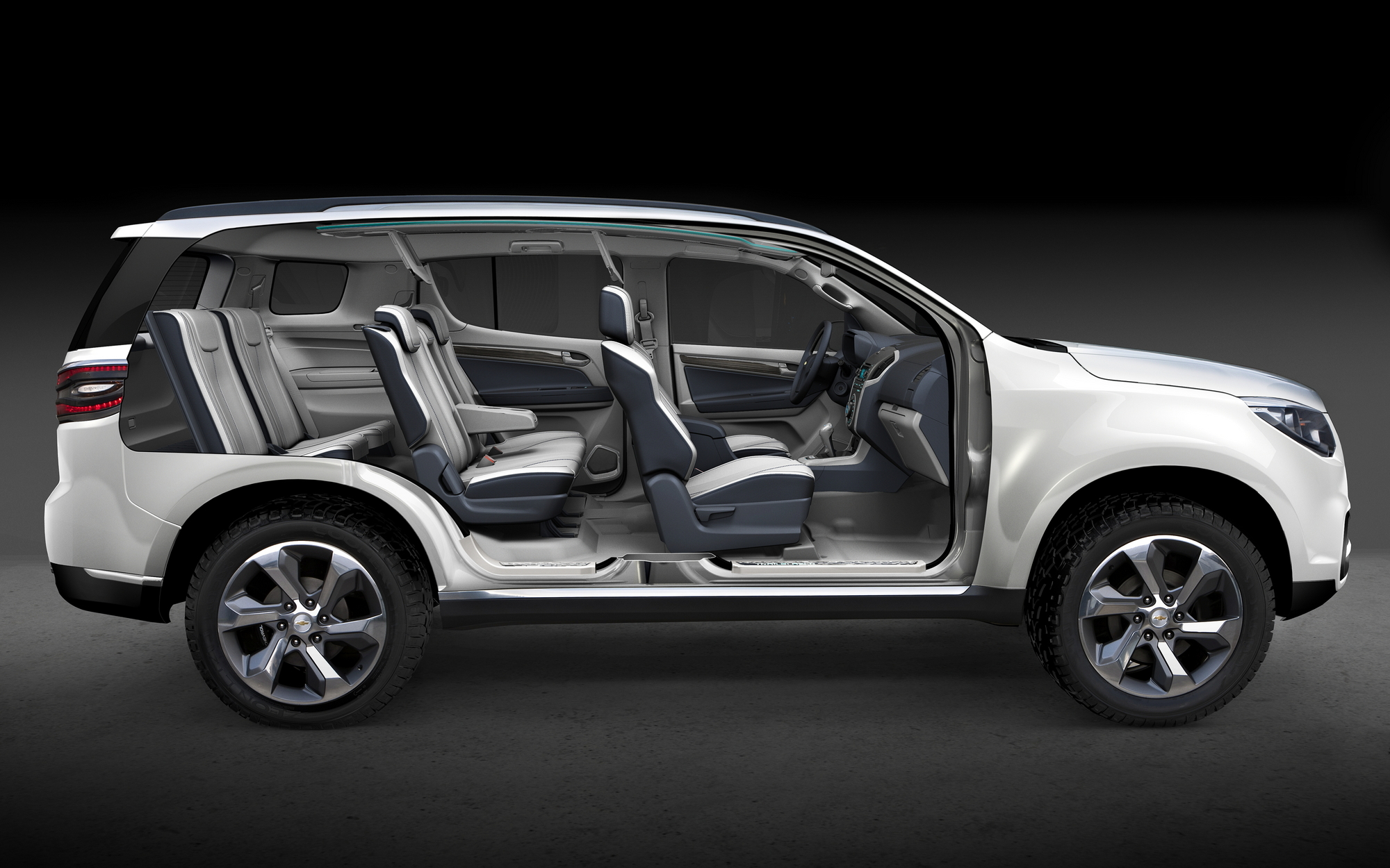 hight resolution of 2012 used chevy traverse interior