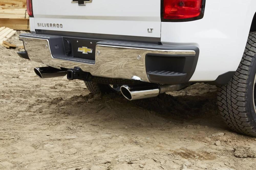 medium resolution of an oem exhaust system is a great upgrade for your chevy silverado