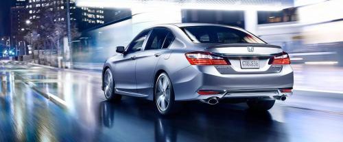 small resolution of 2017 honda accord sedan sport silver exterior rear view