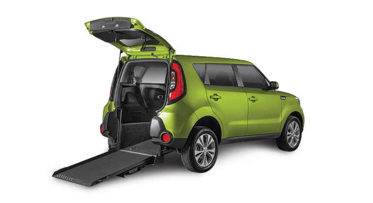 wheelchair car vanity chair with back accessible kia soul info freedom motors usa alien 2