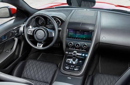 2019 jaguar f type interior