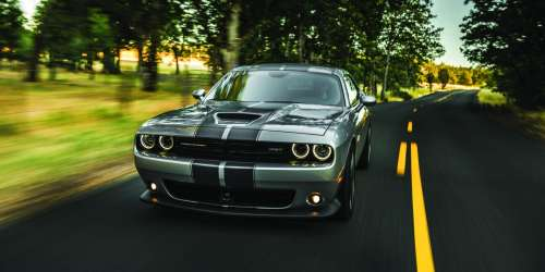 small resolution of 2018 dodge challenger drivers side on scenic roadway