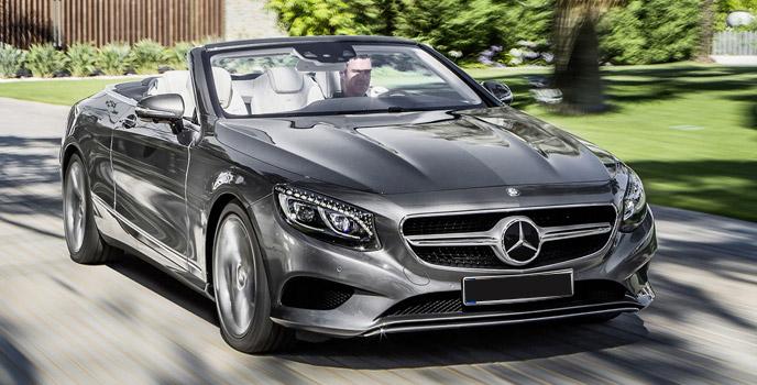 550 Mercedes S Benz Cabriolet 2017