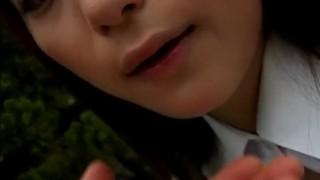Outdoor fuck with Sayaka Tsutsumi!