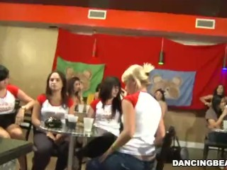 Party Sluts Like Whip cream On Their Dicks