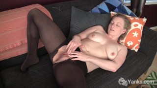 Busty Amateur Lili Fingering Her Pussy