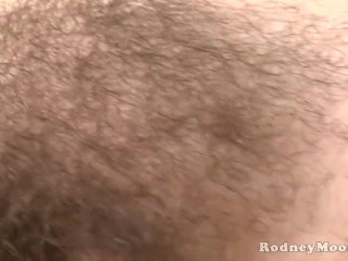Cute Young Hairy Rozie Cheeks Fucked