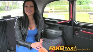 Described Video - FakeTaxi Sex starved career woman in lunch break sex tape