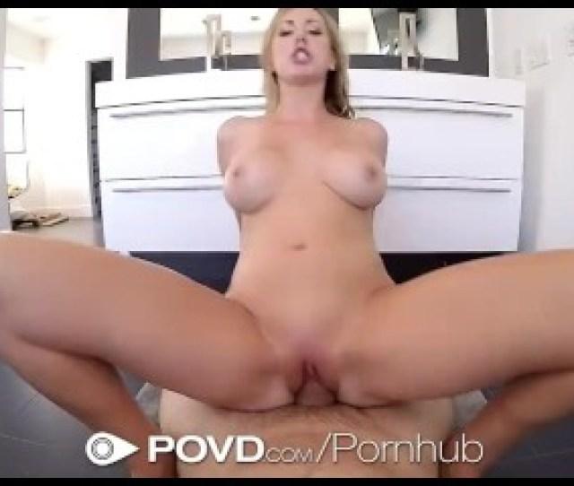 Povd Hot Blonde Brett Rossi Fucked In Pov