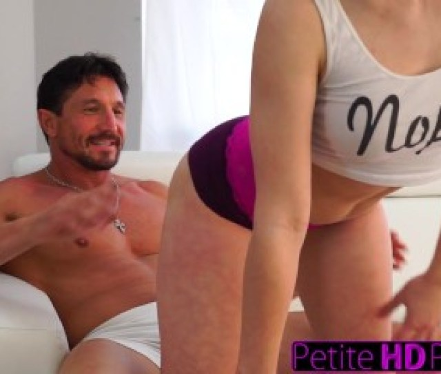 Petitehdporn Step Daughter Teases Dad With Big Ass