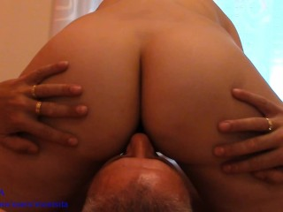 Facesitting – Slit Licking. Feminine perspective POV – MONTSITA