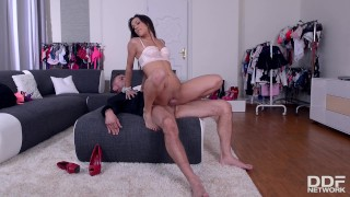 Blow Out Deal - Salesgirl Gets Fucked Deep on Black Friday!