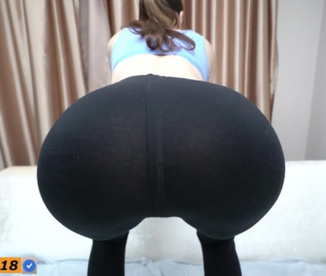 Step Sister Do Squats And Seduced Step Brother With Yoga Pants Pornhub Com